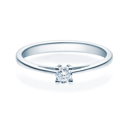 Enstens diamantring Soria med 0,16 ct TW-Si i platina -18010016pt