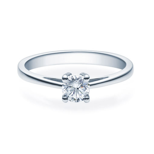 Enstens diamantring Soria med 0,40 ct TW-Si i platina -18010040pt