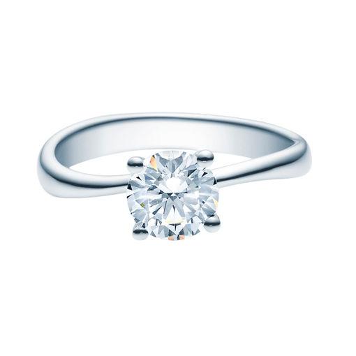 Enstens diamantring Melina med 1,00 ct i 14kt gull. TW-Si. -18011100