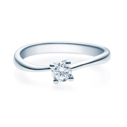 Enstens diamantring Melina med 0,25 ct TW-Si i platina -18011025pt