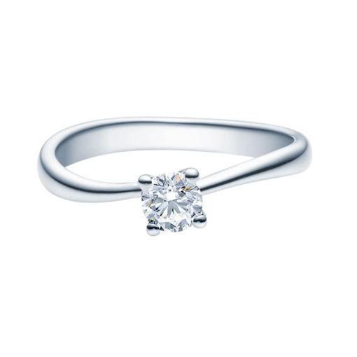 Enstens diamantring Melina med 0,30 ct TW-Si i platina -18011030pt