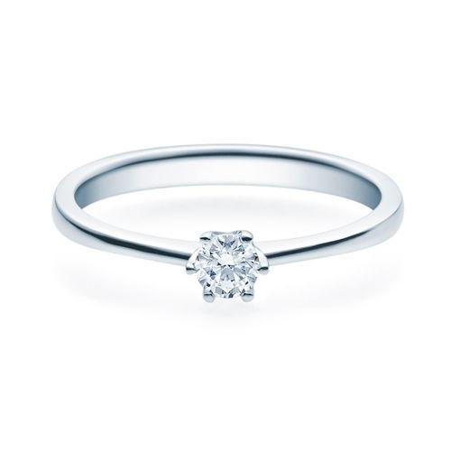 Enstens diamantring Aida med 0,20 ct TW-Si i platina -18016020pt