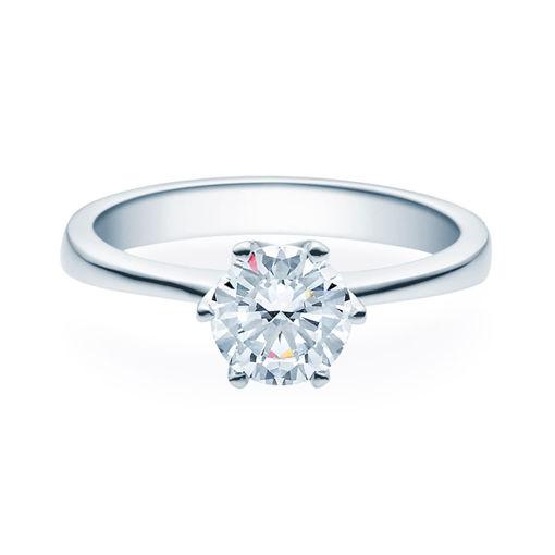 Enstens diamantring Aida med 1,00 ct TW-Si i platina -18016100pt