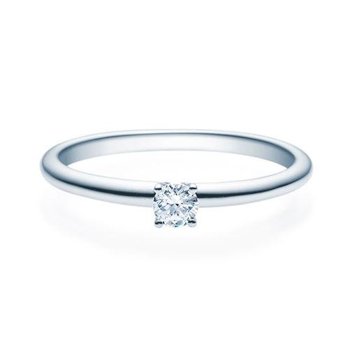 Enstens diamantring Jasmina med 0,16 ct i 14kt gull. TW-Si. -18018016