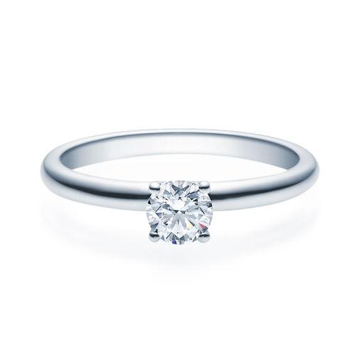 Enstens diamantring Jasmina med 0,40 ct i 14kt gull. TW-Si. -18018040