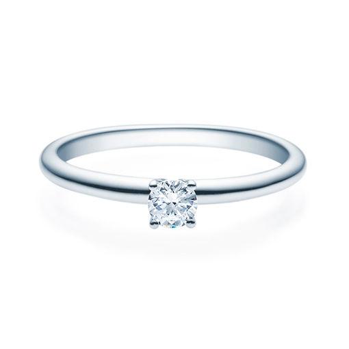 Enstens diamantring Jasmina med 0,20 ct i 14kt gull. TW-Si. -18018020