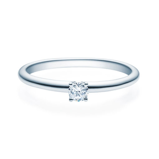 Enstens diamantring Jasmina med 0,16 ct TW-Si i platina -18018016pt
