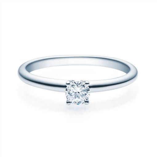 Enstens diamantring Jasmina med 0,25 ct TW-Si i platina -18018025pt