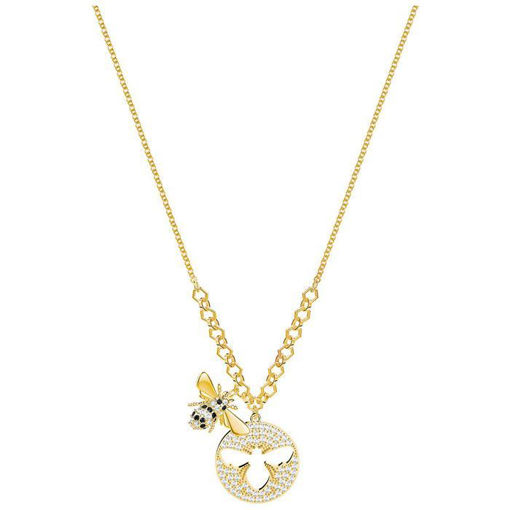 Swarovski collier Lisabel, Small, Gold plating - 5365641