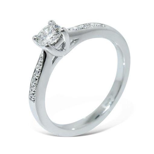 Diamantring Azur med 0,30 ct W-Si - ABR00876
