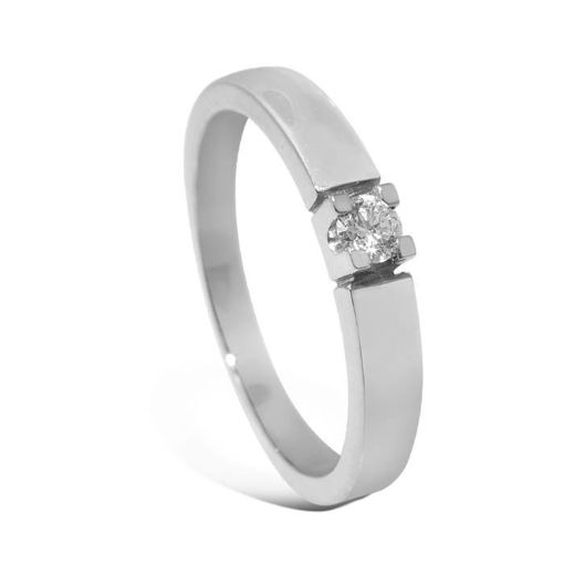 Diamantring Iselin med 0,07 ct TW-Si-8501007