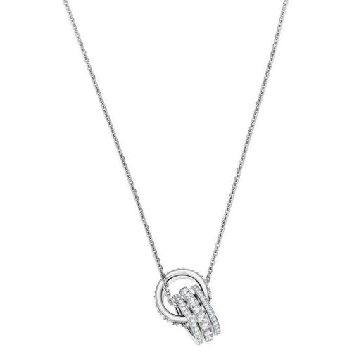 Swarovski smykke Further Pendant, White, Rhodium plated - 5409696