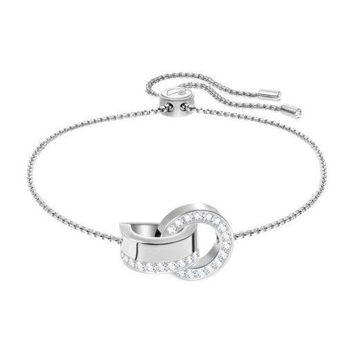 Swarovski armbånd Hollow, hvitt - 5373969