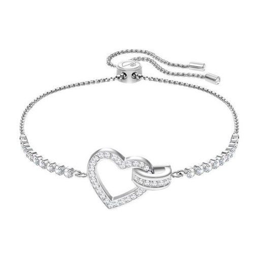 Swarovski armbånd Lovely, Rhodium plating - 5380704