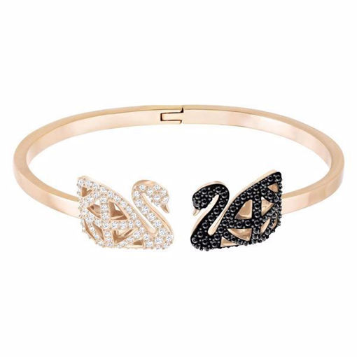 Swarovski armbånd Facet Swan, Mixed plating - 5289535