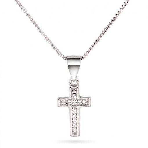 Smykke i sølv. Kors - 64062