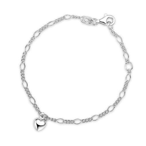 Armbånd i sølv. Hjerter - 60291