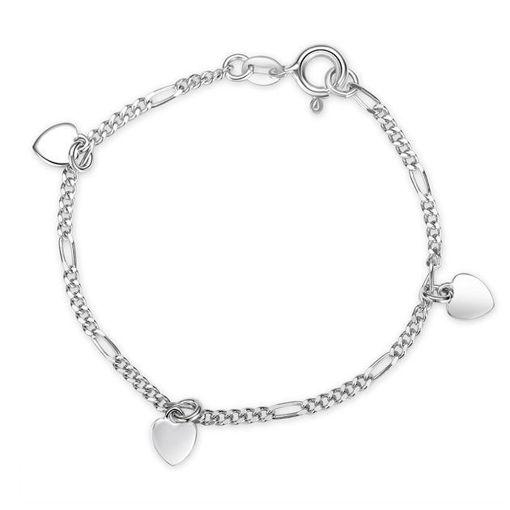Armbånd i sølv. Hjerte - 62190