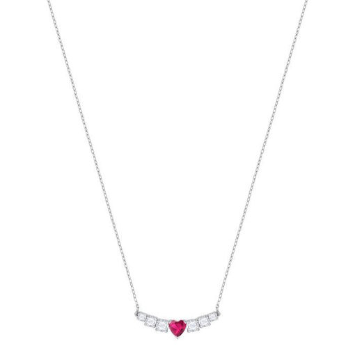 Swarovski collier Love, Rhodium plating -5408434
