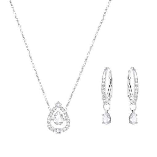 Swarovski smykkesett. Sparkling Dance Pear Set - 5272368