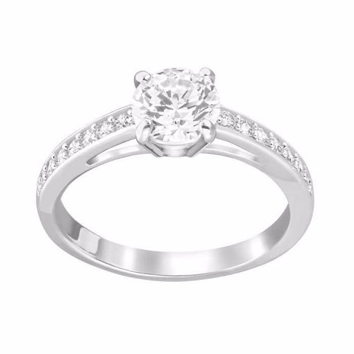 Swarovski ring Attract Round - 5032920
