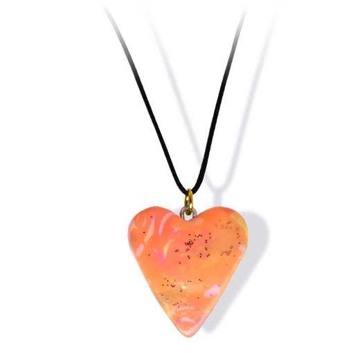 Håndlaget smykke, hjerte -2802056