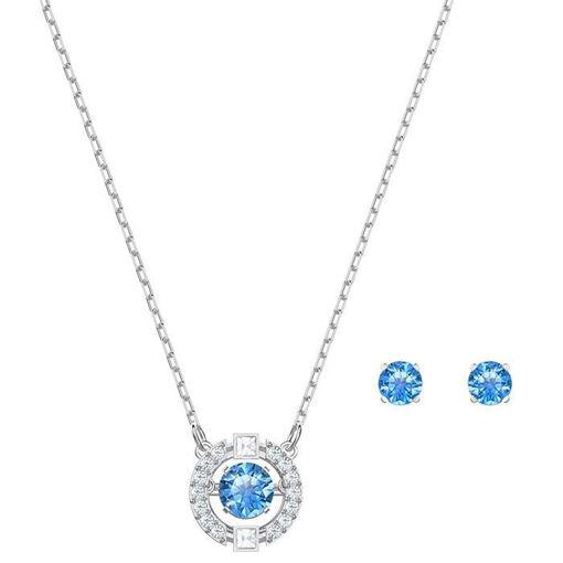 Swarovski smykkesett Sparkling DC Round - 5480485