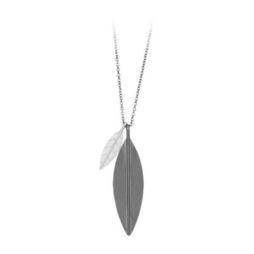 nordahl smykke blad i sølv - 36536500