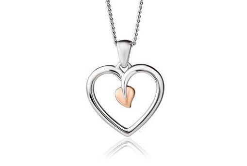 Sølvsmykke Tree of Life® Heart - 3STLHP7
