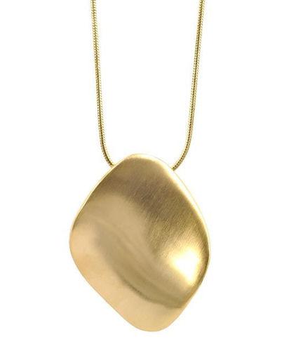 Smykke i forgylt stål AGNES  - 1058281