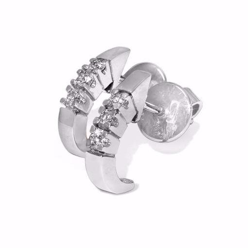 Diamant øredobber i gull - COC005518