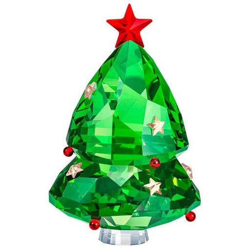 Swarovski figurer Christmas Tree, Green - 5464888
