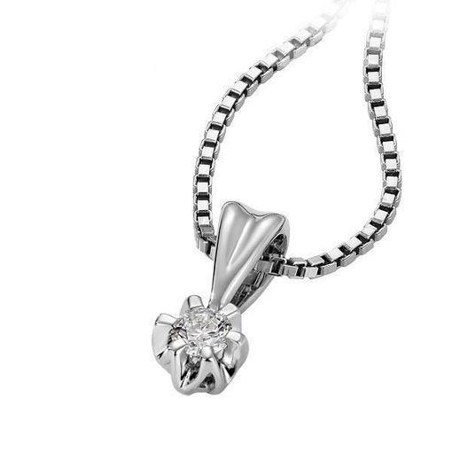 Diamantsmykke Sitara i gull med 0,19 ct W-Si-322119