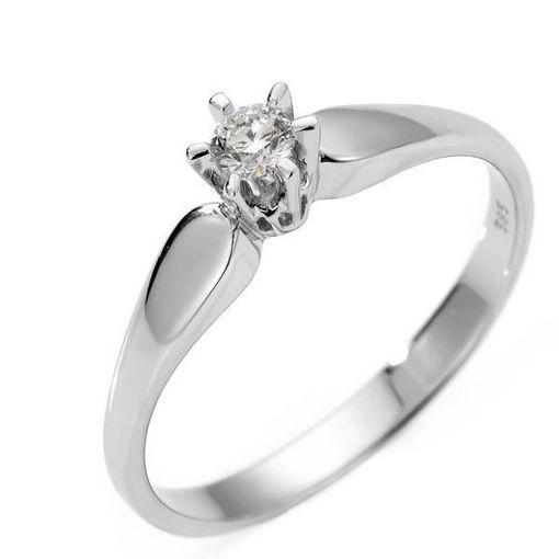 Diamantring forlovelsesring Sofia 0,28 ct W/SI -120728