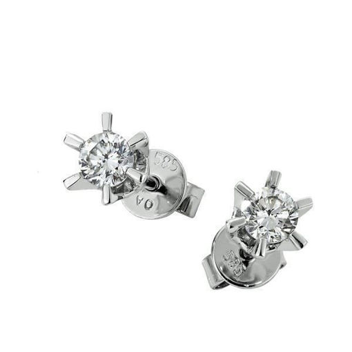 Sofia diamant øredobber med  2/0,46 ct W-Si-2120746