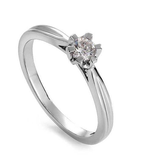 Diamantring forlovelsesring Sitara 0,20ct W/SI -222120