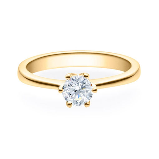 Enstens diamantring Aida med 0,50 ct i 14kt gull. TW-Si. -180160500