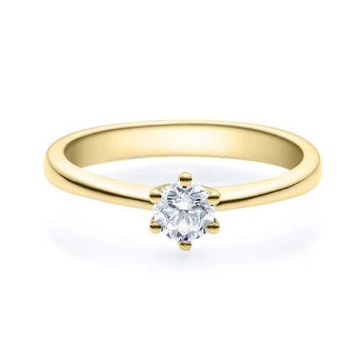 Enstens diamantring Diona 14 kt  gull med 0,30 ct TW-Si.Magic Moments -180010300