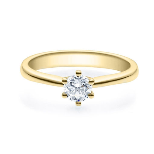 Enstens diamantring Diona 14 kt gull med 0,40 ct TW-Si.Magic Moments -180010400
