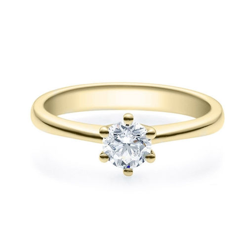 Enstens diamantring Diona 14 kt gull med 0,50 ct TW-Si.Magic Moments -180010500