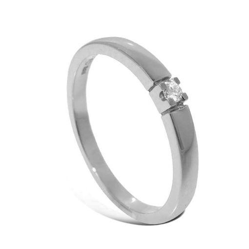 Diamantring Iselin med 0,03 ct TW-Si-850100