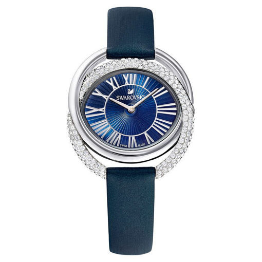 Swarovski klokke Duo, blå - 5484376