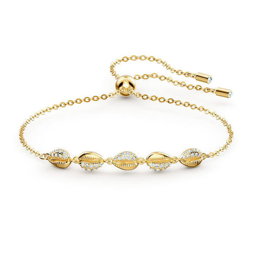 Swarovski armband Shell Cowrie, gult - 5520655