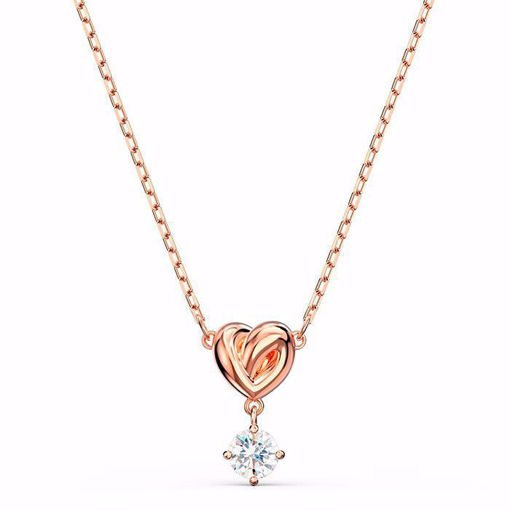 Swarovski smykke Lifelong Heart, rose - 5516542
