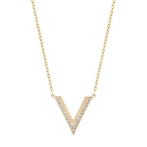 Swarovski smykke Delta, gult - 5140120