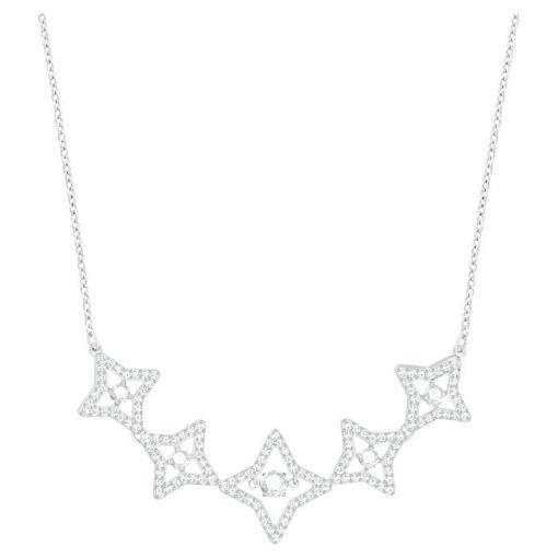 Swarovski collier Sparkling Dance Star, hvitt - 5349663