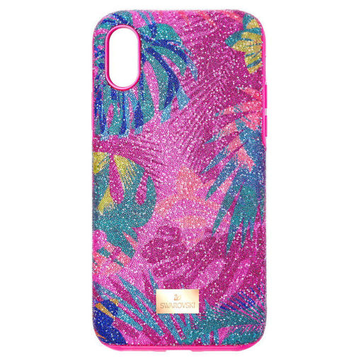 Swarovski Iphone Xs Max deksel Tropical, mørk - 5533971
