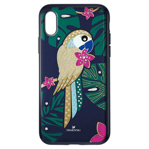 Swarovski  Iphone X-XS deksel Tropical Parrot, mørk - 5520550