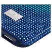 Swarovski  Iphone X-XS deksel Crystalgram, blå - 5532209