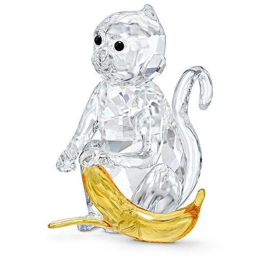Swarovski figurer Monkey with Banana - 5524239